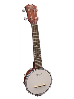 Barnes & Mullins: Banjo Ukulele - Open Back Soprano Instruments | Banjo, Ukulele