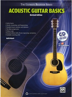 Ultimate Beginner Series: Acoustic Guitar Basics (Revised Edition) Books and CDs | Acoustic Guitar