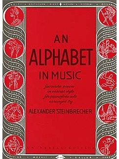 An Alphabet In Music Books | Piano