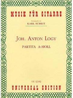 Johann Anton Logy: Partita In A Minor Books | Guitar