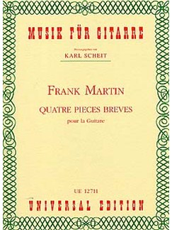 Frank Martin: Quatre Pieces Breves Books | Guitar