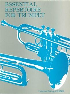 Essential Repertoire For Trumpet Books   Trumpet, Piano Accompaniment