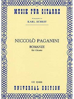 Niccolo Paganini: Romanze Books | Guitar
