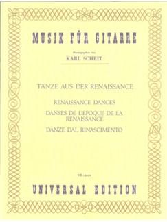 Renaissance Dances (Musik Für Gitarre) Books | Guitar