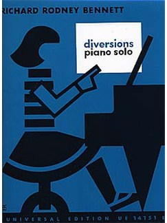 Richard Rodney Bennett: Diversions Books | Piano
