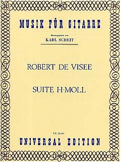 Robert De Visee: Suite H-Moll Books   Guitar