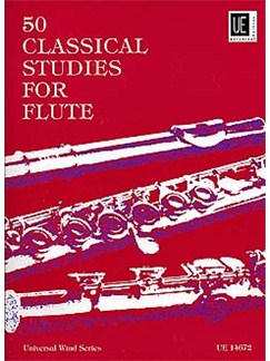 Fifty Classical Studies For Flute Books | Flute