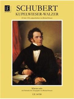 Franz Schubert: Waltz - Kupelwieser Books | Piano