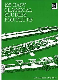 Frans Vester: 125 Easy Classical Studies For Flute Books | Flute