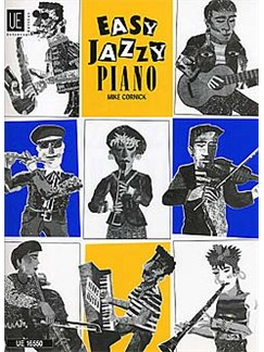 Mike Cornick: Easy Jazzy Piano 1 Books   Piano