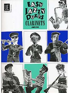 James Rae: Easy Jazzy Duets (Clarinet Duet) Books | Clarinet (Duet), Guitar (with Chord Symbols)