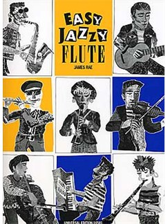 James Rae: Easy Jazzy Flute Books | Flute, Piano Accompaniment