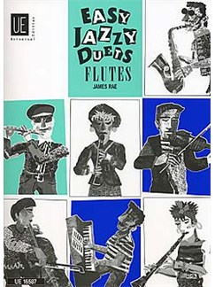 James Rae: Easy Jazzy Duets (Flutes) Books | Flute (Duet)