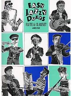 James Rae: Easy Jazzy Duets (Flute And Clarinet) Books | Flute, Clarinet, Guitar (with Chord Symbols)