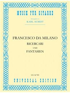 Francesco Canova da Milano: Ricercari Und Fantasien Books | Guitar