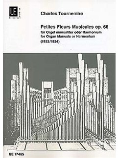 Charles Tournemire: Petites Fleurs Musicales Op.66 Books | Organ