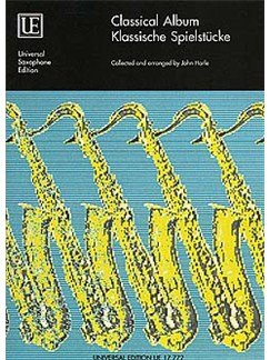 Classical Album (Saxophone) Books | Saxophone with Piano Accompaniment