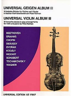 Universal Violin Album Book 3 Books | Violin, Piano Accompaniment