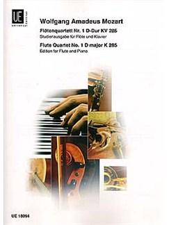 W.A. Mozart: Flute Quartet No.1 In D K.285 Bog | Fløjte, Klaverakkompagnement