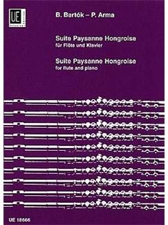 Bela Bartok: Suite Paysanne Hongroise Books | Flute, Piano Accompaniment