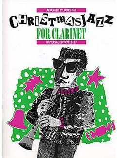 Christmas Jazz For Clarinet Books   Clarinet, Piano Accompaniment