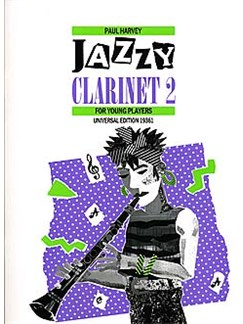 Paul Harvey: Jazzy Clarinet Book 2 Books | Clarinet, Piano Accompaniment
