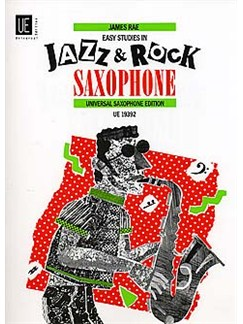 Easy Studies In Jazz And Rock Saxophone Books | Alto Saxophone, Saxophone, Tenor Saxophone