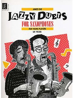 James Rae: Jazzy Duets For Saxophones Books | Saxophone (Duet)