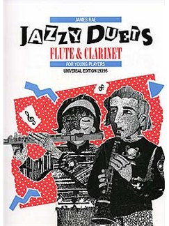 James Rae: Jazzy Duets For Young Players Books | Flute, Clarinet