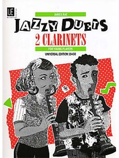 James Rae: Jazzy Duets For 2 Clarinets Books | Clarinet (Duet)
