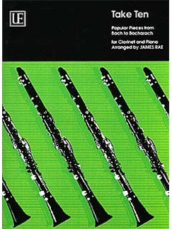 James Rae: Take Ten (Clarinet/Piano) Books | Clarinet, Piano Accompaniment