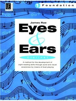 James Rae: Eyes And Ears - Clarinet (Foundation 1) Books | Clarinet