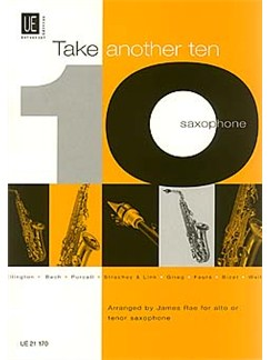 James Rae: Take Another Ten - Saxophone Books | Saxophone with Piano Accompaniment