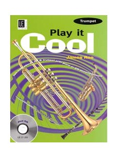 James Rae: Play It Cool (Trumpet) Books and CDs | Trumpet, Piano Accompaniment