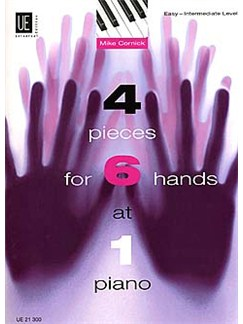 Mike Cornick: 4 Pieces for 6 Hands at 1 Piano Books | Piano Six Hands