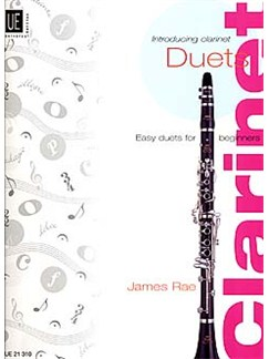 James Rae: Introducing Clarinet – Duets Books | Clarinet (Duet)