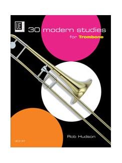 Robert Hudson: 30 Modern Studies For Trombone Books | Trombone