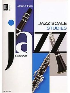 James Rae: Jazz Scale Studies (Clarinet) Books | Clarinet