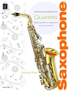 James Rae: Introducing Saxophone Quartets Books | Saxophone (Quartet)