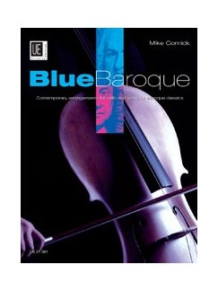 Mike Cornick: Blue Baroque (Cello/Piano) Books | Cello, Piano Accompaniment