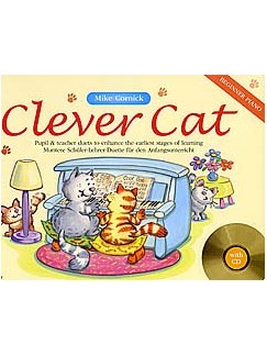 Mike Cornick: Clever Cat - Beginner Piano Books and CDs | Piano Duet
