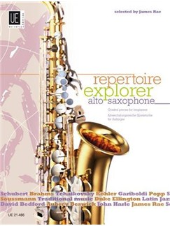 James Rae: Repertoire Explorer: Alto Saxophone - Graded Pieces For Beginners Books | Alto Saxophone