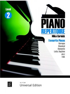 Mike Cornick: Piano Repertoire Level 2 Books | Piano