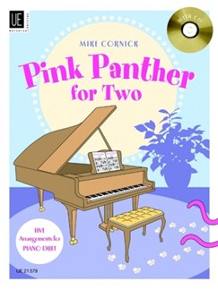 Mike Cornick: Pink Panther For Two Books and CDs | Piano Duet