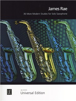 James Rae: 36 More Modern Studies for Solo Saxophone Books | Saxophone