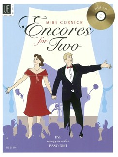 Arr. Mike Cornick: Encores For Two (Book/CD) Books | Piano Duet