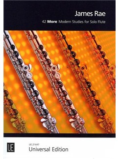 James Rae: 42 More Modern Studies For Solo Flute Books | Flute