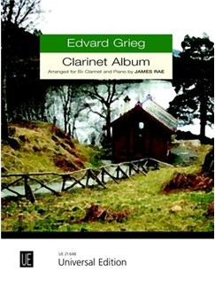 Edvard Grieg: Clarinet Album Books | Clarinet, Piano Accompaniment
