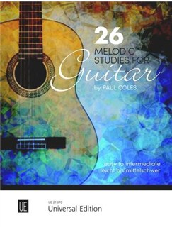 Paul Coles: 26 Melodic Studies - Easy-Intermediate: Guitar Books | Guitar