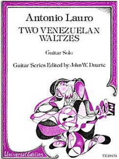 Antonio Lauro: Two Venezuelan Waltzes Books | Guitar